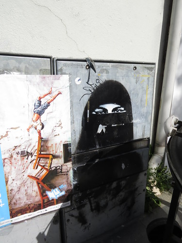 Hijab stencil