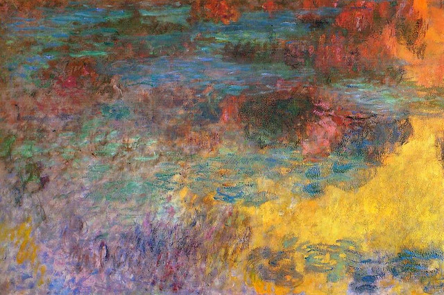 monet_water_lily_pond_evening_left_panel_1926