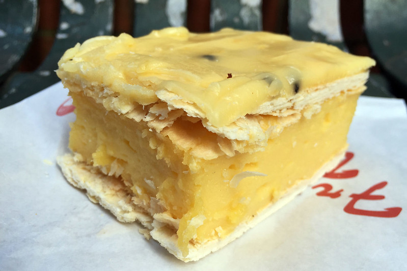 Vanilla slice, St Leonards Bread & Cakes