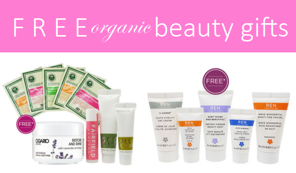 Weekly Discounts and Free Organic Beauty Gifts #39