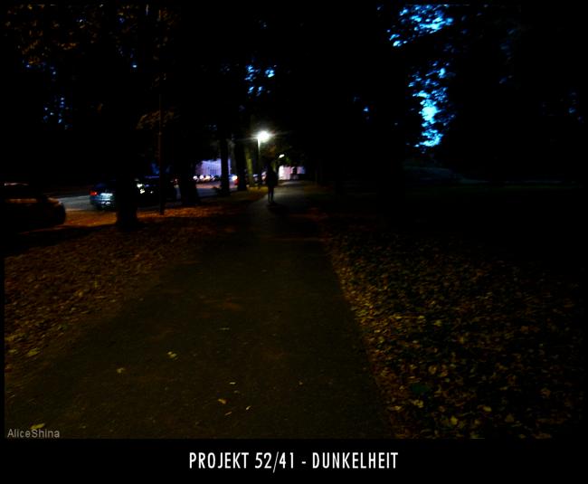 Projekt 52/41 - Dunkelheit
