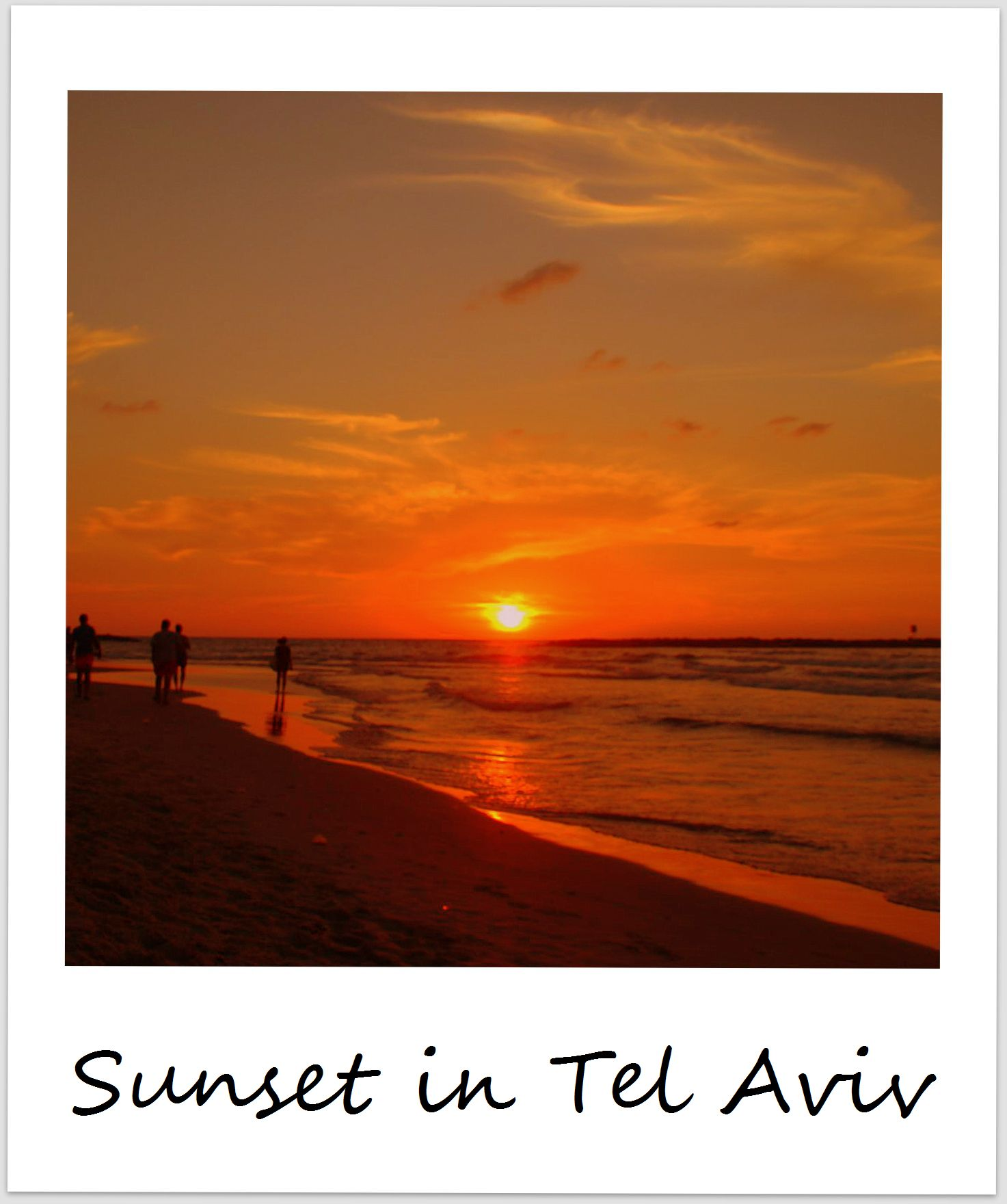 polaroid of the week israel tel aviv