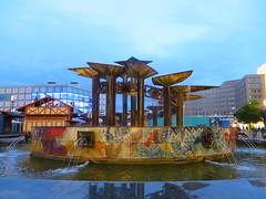 Berlin - Alexanderplatz at night