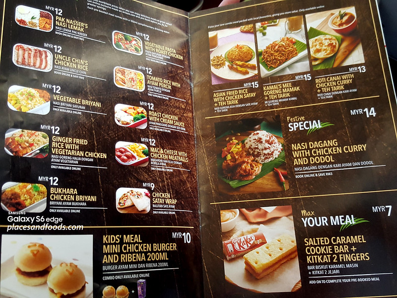 airasia macau new food menu
