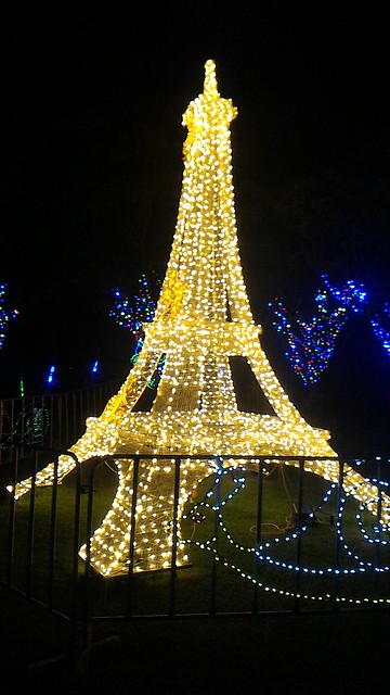 Hunter Valley Gardens Christmas Lights 2015