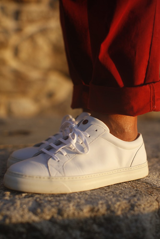 Edge Matt White Sneakers 1