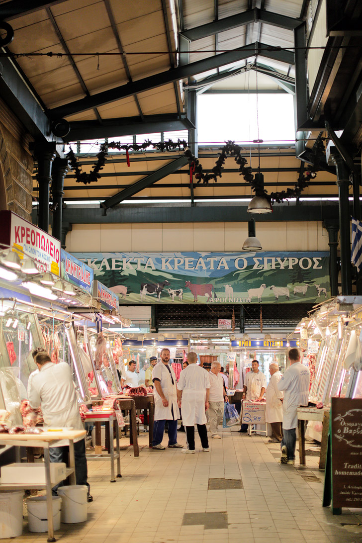 Central Market Athens Greece (25 Best Markets in the World to Add to Your Bucket List).