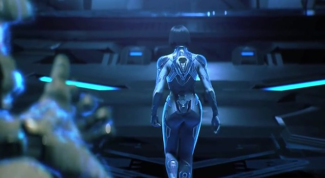 Halo 4 Cortana Sexualized