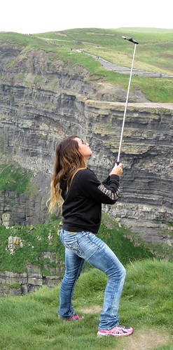 Dangerous Selfies on the Unstable Ground on the Cliffs of Moher