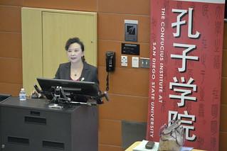 November 05 '15 Professor Xiaoyan Qian Guest Lecturer in SHW11