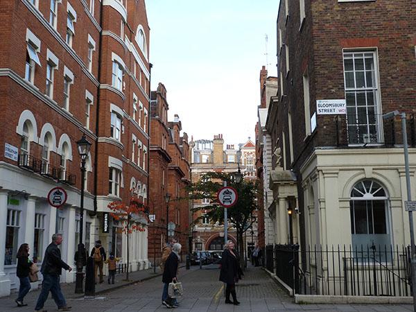 bloosbury street