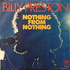 BILLY PRESTON:NOTHING FROM NOTHING(JACKET A)