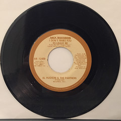 AL HUDSON & THE PARTNERS:YOU CAN DO IT(RECORD SIDE-B)