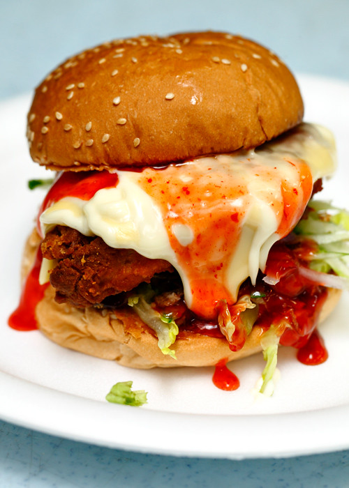 Burger mbira Chicken Spicy Delux