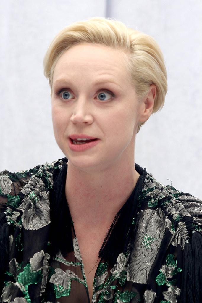 Гвендолин Кристи — Пресс-конференция «Звёздные войны» 2015 – 5