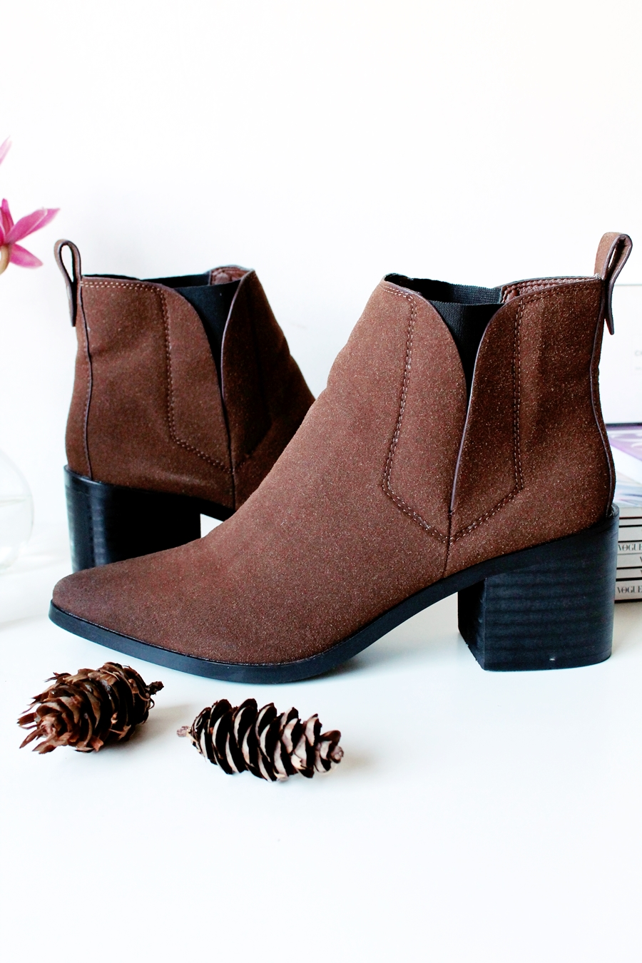 BROWN BOOTS (2)