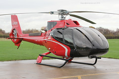 G-PERT - 2015 build Airbus Helicopters EC130 T2, visiting Barton