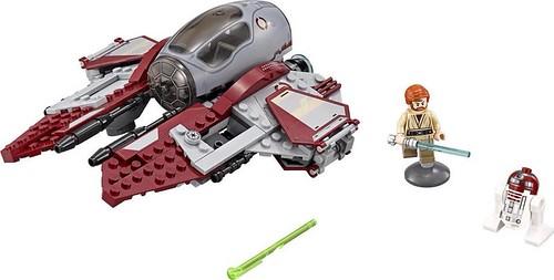 LEGO Star Wars 2016 sets | 75135 - Obi-Wan's Jedi Interceptor