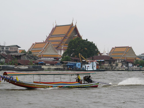 Bangkok: la rivière Chao Phraya