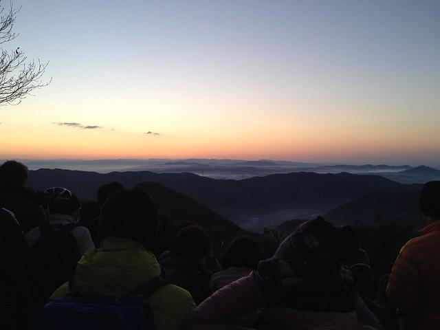 明王山 見晴台からの眺望 各務原方面