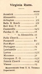 Roberts Bicycle Map Washington DC and area 1896 - Rides in VA