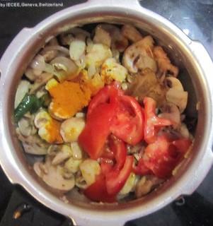 Mushroom Biriyani step 5