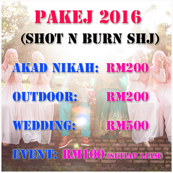 pakej photography 2016
