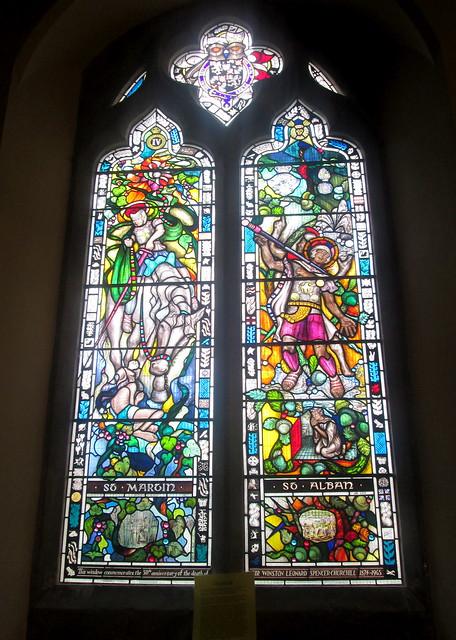 Bladon Church Interior 2