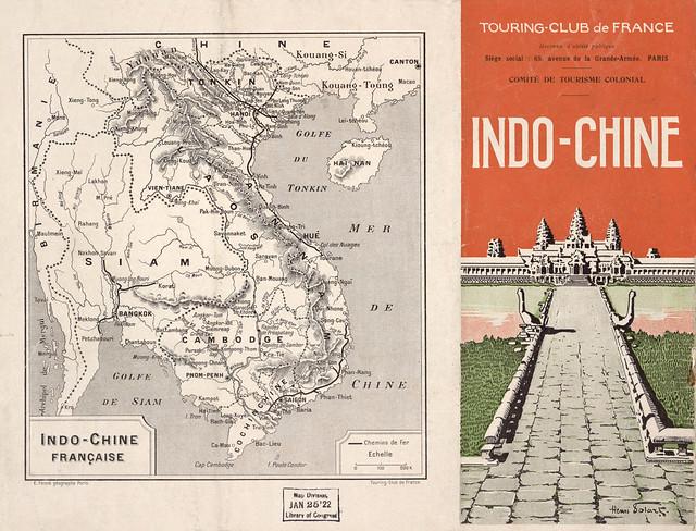 Indo-Chine Franc̜aise (1) - Brochure quảng bá du lịch Đông Dương, khoảng năm 1910