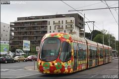 Alstom Citadis - Tam Montpellier 3M (Transports Alternatifs de Montpellier Méditerranée Métropole) n°2054