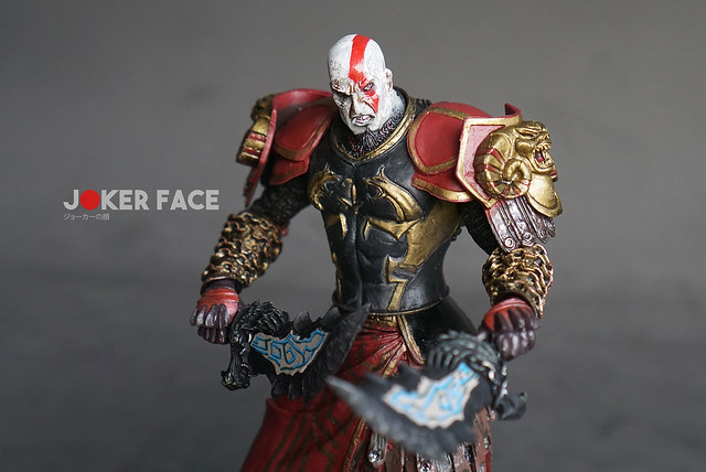 Action figure Kratos Ares Armor Section B - God Of War
