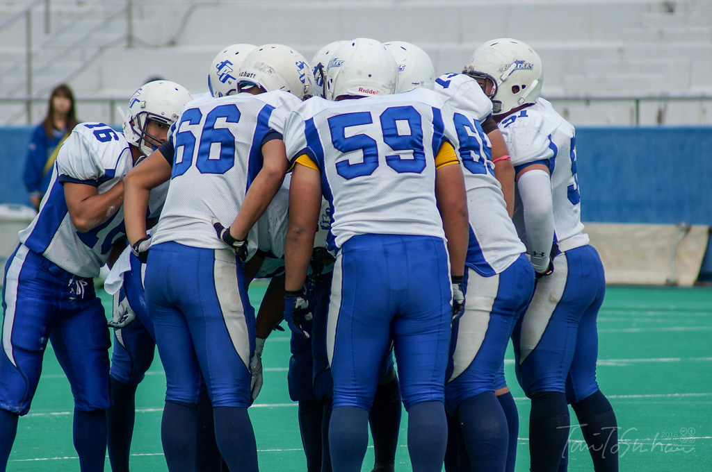 2016 全日本大学アメリカンフットボール選手権 西日本代表校1回戦 島根大ー福井県立大
