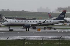 N955UW EMB190 US Airways Express