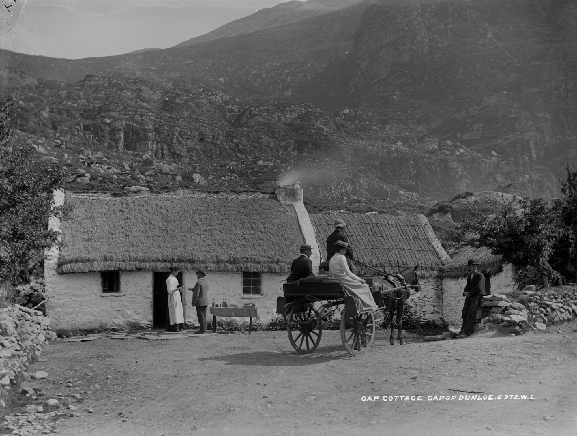 Gap of Dunloe, Mrs. Moriarty's, Killarney, Co. Kerry