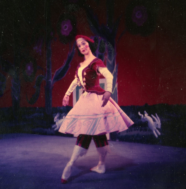 Margot Fonteyn as the Ballerina in Petrushka, The Royal Ballet 1957. Photograph by Roger Wood © ROH Collections