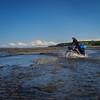 Crossing the Ninilchik River