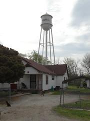 Hughes Water Tower, Hughes, AR