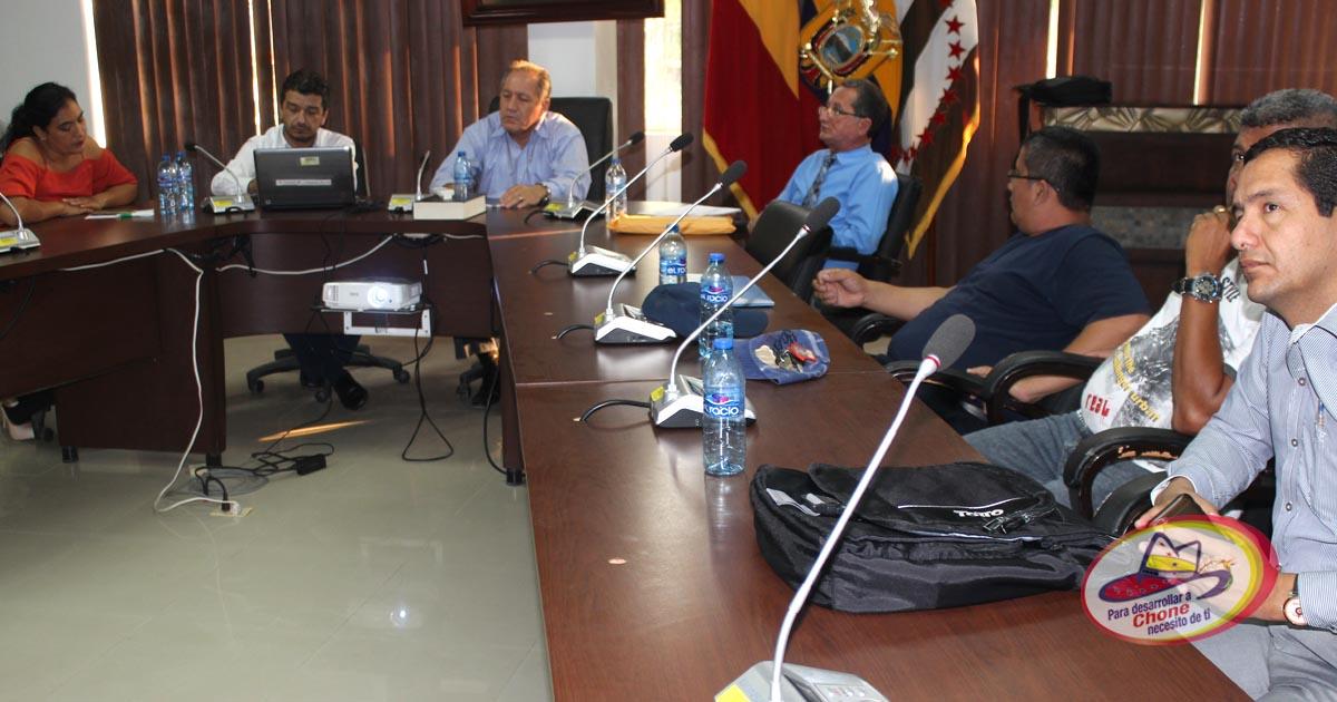 GADM Chone conformó Comité Obrero Patronal