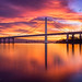The New Kid in Town - East Span Bay Bridge by Aron Cooperman