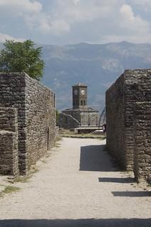 Image of Gjirokastër Castle. travel albania 2015