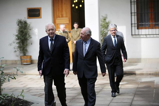 Vicepresidente Burgos se reúne con ex Presidente Ricardo Lagos | 13.08.15