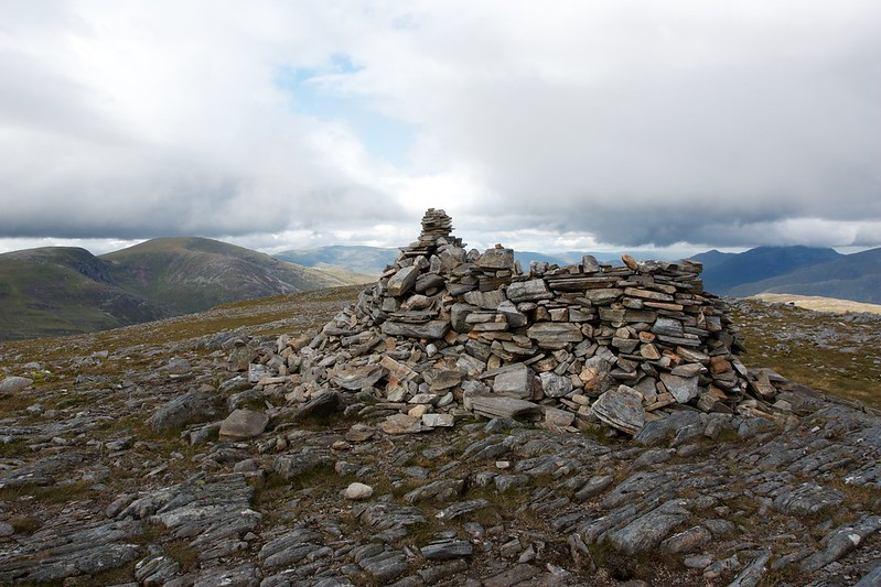 Summit of Beinn na Lap