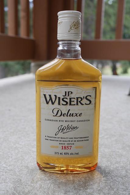 水, 2015-07-22 18:42 - J.P. Wiser's Deluxe Canadian Rye Whiskey