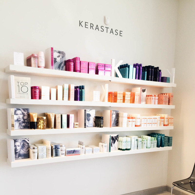 cute & little blog | beauty brands addison dfw store | hair salon kerastase