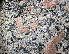 Porphyritic granite (Giants Range Batholith, Neoarchean, 2.67-2.68 Ga; Rt. 1 roadcut north of the South Kawishiwi River, Minnesota, USA) 12