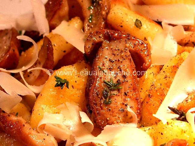 Gnocchi aux Cèpes à la Sauge &Thym © Ana Luthi  Tous droits réservés 14