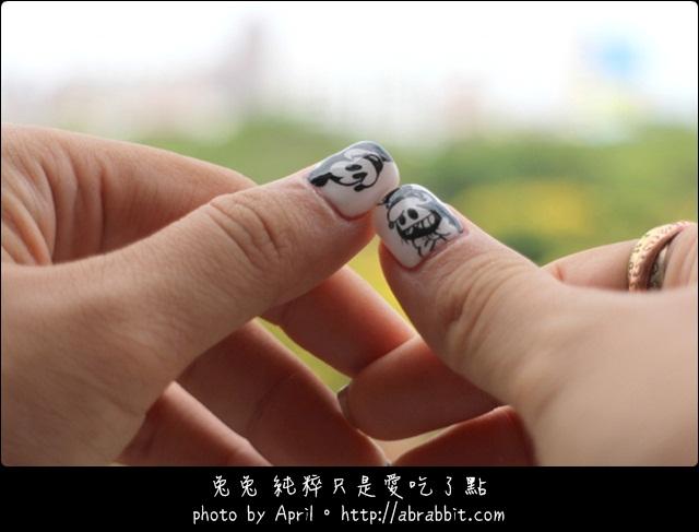 台中美甲|羅尹美學概念沙龍,9月這個初秋的季節,來個黑白吧!_兔兔的美甲日記@西屯區 東興路(已歇業)
