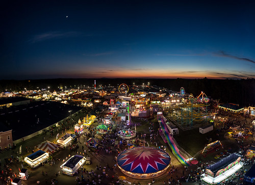 county carnival sunset lights twilight purple dusk carousel fair ferriswheel rides rollercoaster bluehour elevation overhead goldenhour 2015 gwinnett thrillrides gwinnettcountyfair exploregwinnett