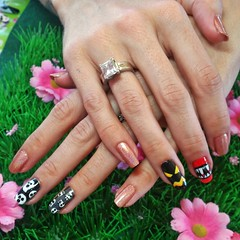 Nail art from Sat Oct 3 at the Low Road