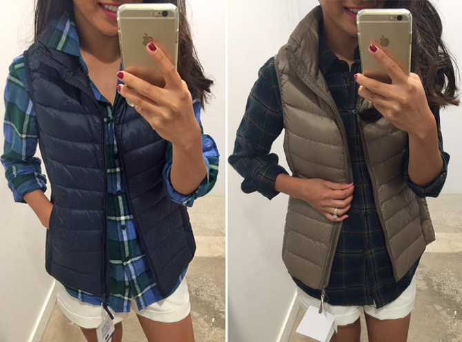 uniqlo puffer vest review